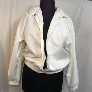 Vintage Reebok Ladies Jacket Medium 1980's